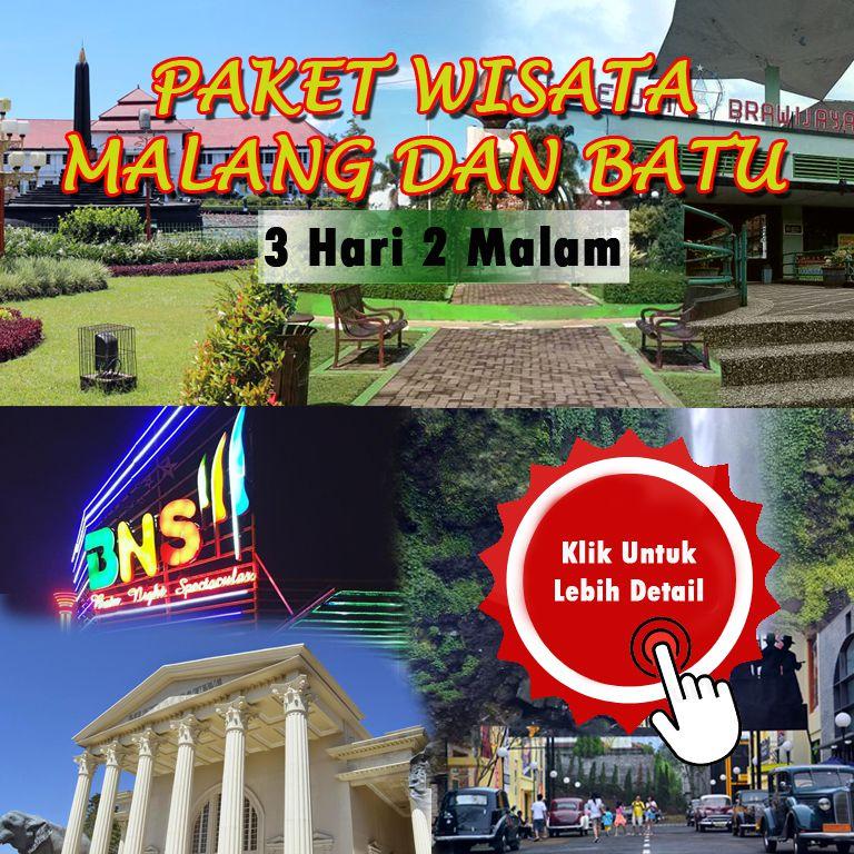 PAKET WISATA BATU - MALANG (FULL DAY) - Pesona Wisata Malang